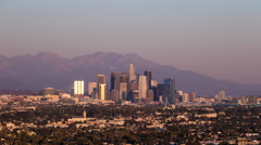 Los Angeles, California Day To Night Sunset Timelapse From Culver City Stock Footage