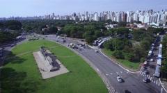 Ibirapuera park São Paulo Brazil Stock Footage