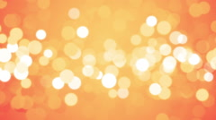 Orange Loopable Soft Background Stock Footage