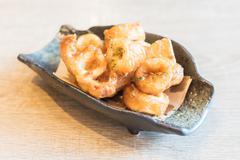 Calamari rings - stock photo