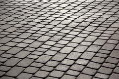 Pavement close up in the sunlight Stock Photos