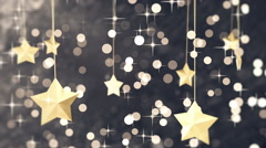 Dark New Year Loopable Background Stock Footage