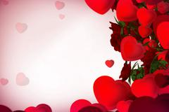 New sweet Floral background Stock Illustration