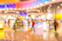 Stock Photo of shopping mall Blurred background