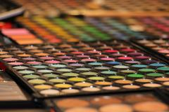 Eyeshadow small palette Stock Photos