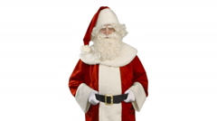 Santa Claus is Nodding - Thump Up - stock footage