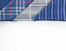 Triangle handkerchief Stock Photos