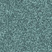 Seamless digital pixel pattern in blue (cold) colors - stock illustration