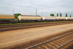 Freight Train Wagons Kuvituskuvat