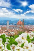 Cathedral  Santa Maria del Fiore, Florence, Italy Stock Photos