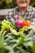 Look at this wonderful healthy fresh food - stock photo