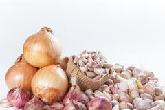 Set of cooking ingredient - stock photo