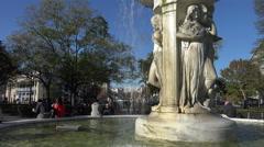 Dupont Circle, Washington, DC Stock Footage