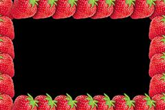new sweet strawberry background - stock illustration