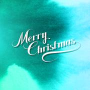 Merry Christmas. Vector Holiday Illustration Stock Illustration