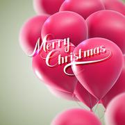 Merry Christmas. Holiday Vector Illustration. - stock illustration