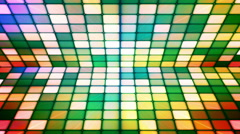 Broadcast Twinkling Hi-Tech Cubes Stage 21 - stock footage