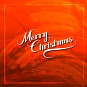 Merry Christmas. Holiday Vector Illustration. Stock Illustration