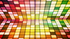 Broadcast Twinkling Hi-Tech Cubes Stage 22 - stock footage
