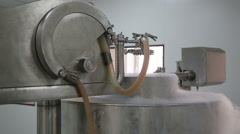 Cryogenic plant producing granolas Stock Footage