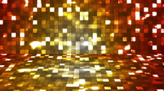 Broadcast Firey Light Hi-Tech Squares Stage 05 - stock footage