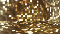Broadcast Firey Light Hi-Tech Squares Stage 06 - stock footage