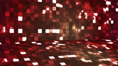 Broadcast Firey Light Hi-Tech Squares Stage 09 - stock footage