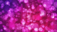 Broadcast Light Bokeh, Pink, Events, Loopable, HD Stock Footage