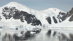 Coastline of Antarctica - Global Warming - Ice Formations - Part 45 - stock footage