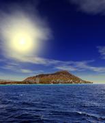 Sunrise Honolulu Hawaii Kuvituskuvat