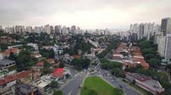 Pacaembu - São Paulo - Brazil Stock Footage