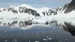 Coastline of Antarctica - Global Warming - Ice Formations - Part 26 - stock footage