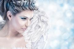 Fairy winter Stock Photos