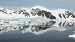 Coastline of Antarctica - Global Warming - Ice Formations - Part 18 - stock footage