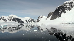 Coastline of Antarctica - Global Warming - Ice Formations - Part 11 - stock footage