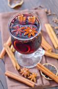 Glint wine Stock Photos