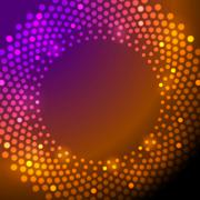 Shiny sparkling lights vector background - stock illustration