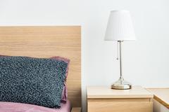 Light lamp decoration in bed room interior Kuvituskuvat
