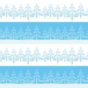 Stock Illustration of Christmas Trees, Seamless