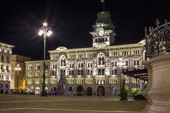 City Hall, Trieste, Italy Stock Photos