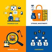 Stock Illustration of Business Design Concept
