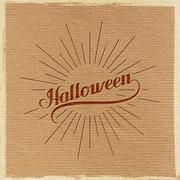 Halloween. Holiday Vector Illustration. - stock illustration