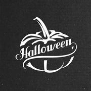Stock Illustration of Halloween Pumpkin. Holiday Vector Illustration.