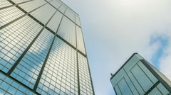 Sky And Skyscraper - stock footage
