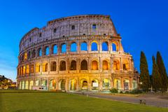 Colosseum - Rome - Italy - stock photo