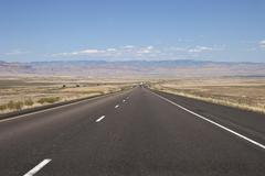 Stock Photo of Interstate 70 at Green River Utah United States North America