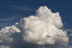Stock Photo of Cumulus clouds cumulus Tyrol Austria Europe