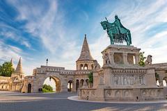 Fisherman's Bastion - Budapest - Hungary - stock photo