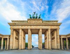 Brandenburg Gate - Berlin - Germany - stock photo