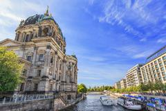 Berlin Cathedral or Berlin Dom - Berlin - Germany - stock photo